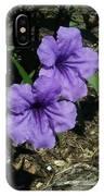 Purple Beauty IPhone Case by Marian Palucci-Lonzetta