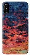 Purple Sun IPhone Case