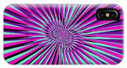 Pyschedelic Pink & Purple Art IPhone Case