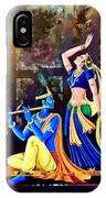Radhakrishna IPhone Case