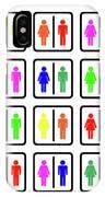 Rainbow Gender Men Women Study IPhone Case