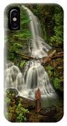 Rainier Falls Creek Falls IPhone X Case
