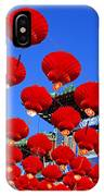 Red Lanterns Are Used As Decoration For IPhone X Case