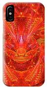 Red Lion IPhone Case