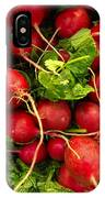 Red Radishes IPhone Case