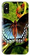 Red-spotted Purple Butterfly 017 IPhone Case