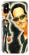 Rock N' Roll Warriors - U2 IPhone X Case