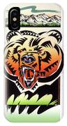 Rocky Mountain Grizzly IPhone X Case