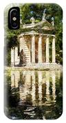 Rome, Ancient Temple Of Aesculapius - 04 IPhone Case