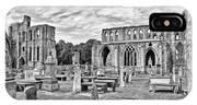 Ruins Of A Cathedral, Elgin Cathedral IPhone Case