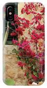 Rustic Life - Flowers IPhone Case