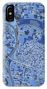 Sacramento Map Retro 5 IPhone X Case