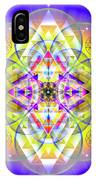 Sacred Geometry 731 IPhone Case