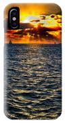 Sailboat Sunburst IPhone Case