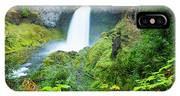 Scenic View Of Waterfall, Portland IPhone X Case