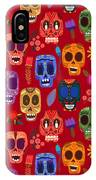 Seamless Pattern-mexican Day Of The IPhone X Case