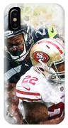 Seattle Seahawks Against San Francisco 49ers IPhone Case