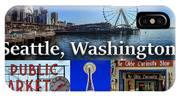 Seattle Washington Waterfront 01 IPhone Case