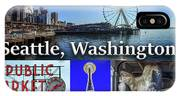 Seattle Washington Waterfront 02 IPhone Case