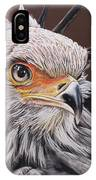 Secretary Bird IPhone Case