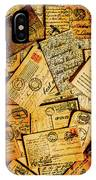 Sentimental Writings IPhone X Case