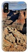 Shafer Canyon In Canyonlands Np IPhone Case