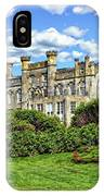 Sheffield Park House IPhone Case by Anthony Dezenzio