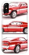 Shelby Gt500  IPhone X Case