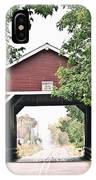 Shimanek Covered Bridge IPhone Case
