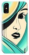 Shy Girl IPhone Case