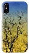 Silhouette Birds Sequel IPhone Case