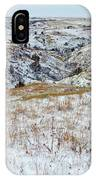 Slope County Snowfall IPhone Case