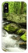 Smoky Mountains In Spring IPhone Case by Mel Steinhauer
