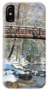 Snowy Bridge IPhone X Case