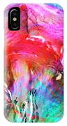 Somebody's Smiling - Custom Version 2 - Abstract Art IPhone Case by Jaison Cianelli