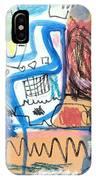 Sourire IPhone Case by Diane Desrochers