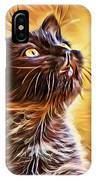Special Long Neck Kitty IPhone Case by Don Northup