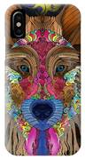 Spirit Wolf IPhone Case by Mark Taylor
