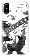 Splatter Guitar IPhone Case