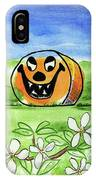 Spring-o-ween IPhone Case