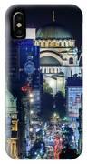 St. Sava Temple In Belgrade IPhone X Case