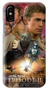 Star Wars Episode II IPhone Case
