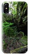 Starburst In The Woods IPhone Case