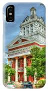 Stately Elegance Morgan County Court House Madison Georgia Art IPhone Case