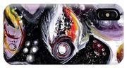 Static Fish Suspended IPhone Case
