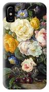 Still Life With Peonies  IPhone Case