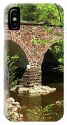 Stone Bridge At The Eastern Entrance Of The Manassas Battlefield  IPhone Case