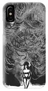 Storm In A Glass Box IPhone Case