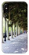 Strolling The Burgos Boulevard IPhone Case by Rick Locke