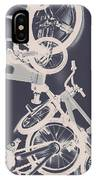 Stunt Bike Trickery IPhone X Case